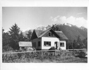 Mission house at Bella Coola