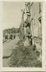 First Nation totems