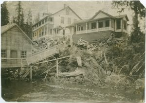 Hospital and mission, Rivers Inlet, B.C.