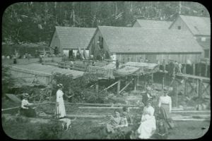 Cannery at River's Inlet, B.C.
