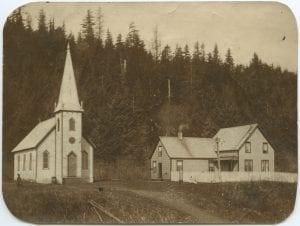 Methodist church and mission house