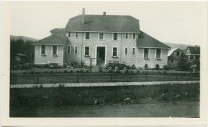 External views of the Burns Lake Hospital