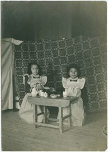 First Nation girl students