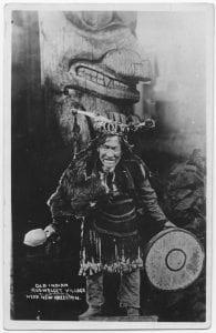 Medicine man, Kispiox Indians