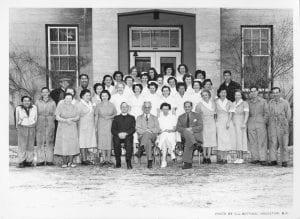 [Staff of the Hazelton Hospital]